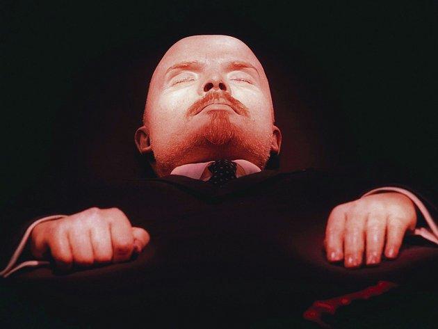 Údržba Leninova těla je nákladná. Ilustrační fofo