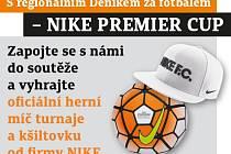 Zapojte se s námi do soutěže a vyhrajte oficiální herní míč turnaje a kšiltovku od firmy NIKE.