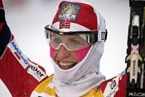 Marit Björgenová, šampionka současného klasického lyžování.