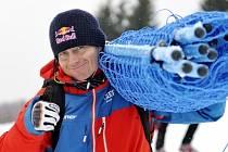Skikrosař Tomáš Kraus.