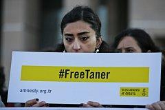 Protesty proti věznění Tanera Kilice