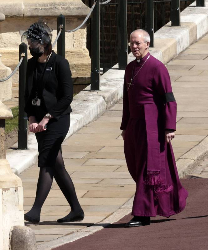 Obřad povede arcibiskup z Canterbury Justin Welby