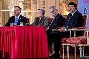 Ceremoniál k výročí 20 let České republiky v NATO proběhl 12. března v Praze
