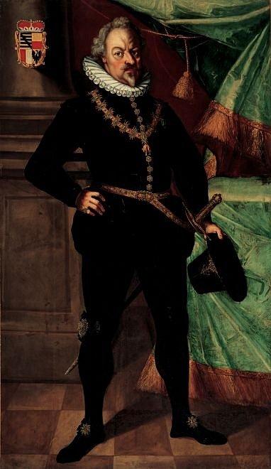 Hrdelnímu soudu se stavovskými předáky předsedal Karel I. z Lichtenštejna