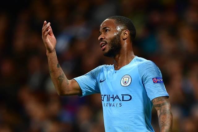Útočník Manchesteru City Raheem Sterling.