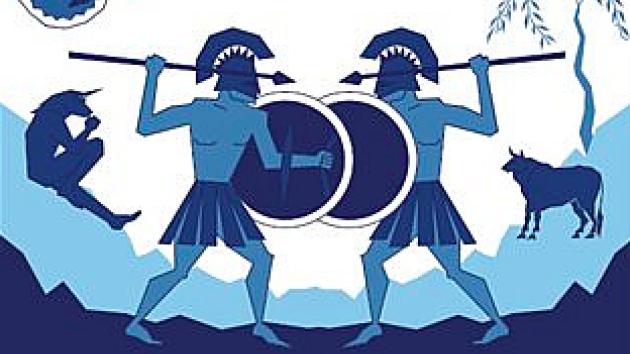 Obálka nové knihy Řecké mýty: Mytologie a filozofie