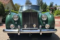 Rolls Royce, ve kterém jezdila Liz Taylorová