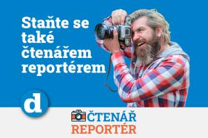 Staňte se čtenářem-reportérem!