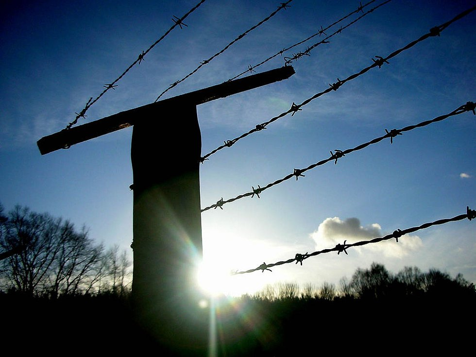 Zbytky koncentračního tábora Stutthof