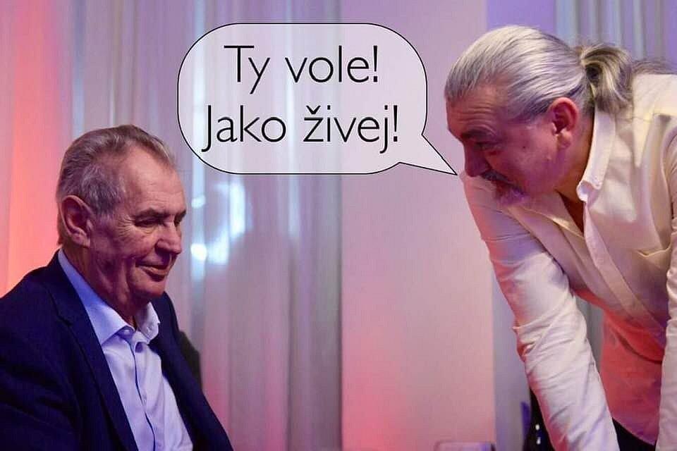 Co si počne Miloš Zeman bez Hůlky?
