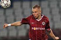 Michal Kadlec patřil v zápase v Olomouci k nejlepším sparťanům na hřišti.