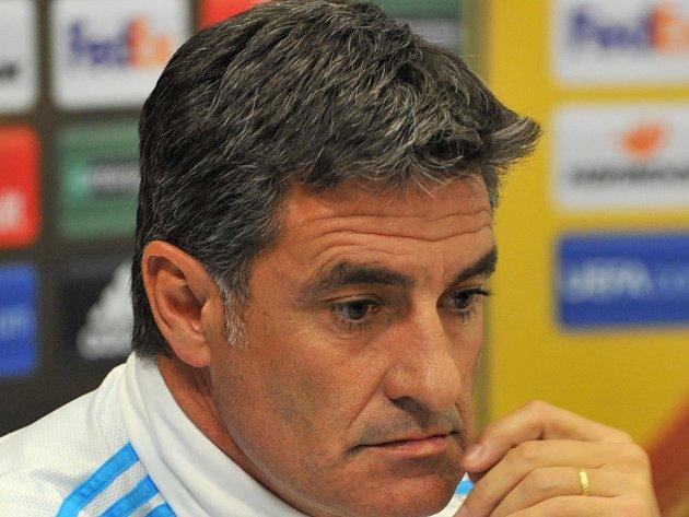 Michel, trenér fotbalistů Marseille