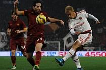AS Řím nevyzrálo na AC Milán