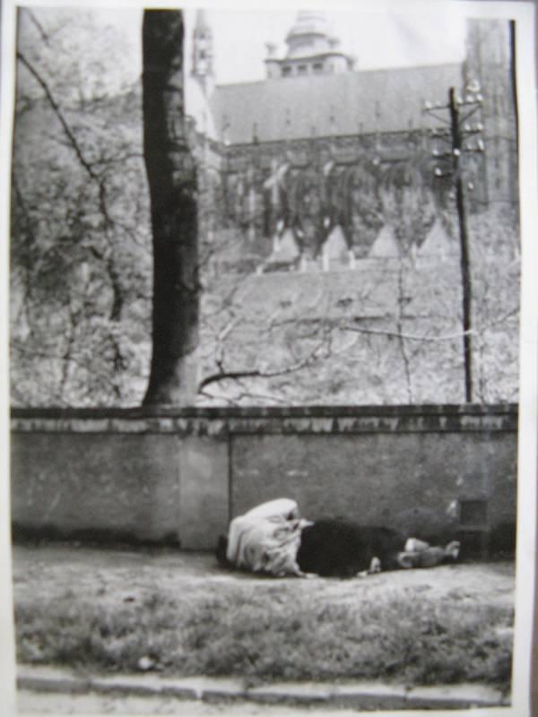Pražské povstání, padlý u zdi Jeleního příkopu