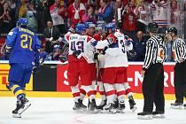 MS v ledním hokeji, ČR - Švédsko
