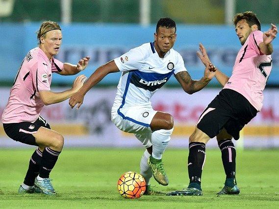 Zápas série A Inter Milán - Palermo.