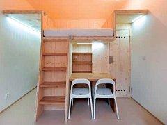 Impulzem pro vznik projektu Minibyty byl v daném případě uvědomělý investor, který koupil v Praze dva prostory, každý o velikosti 17 m2, a chtěl je kompletně předělat.