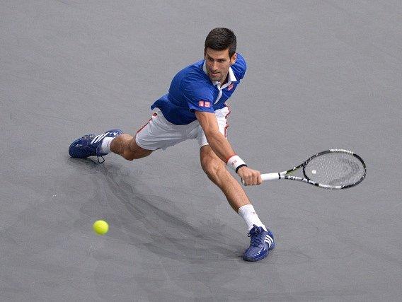 Novak Djokovič vyzrál na Stanislase Wawrinku
