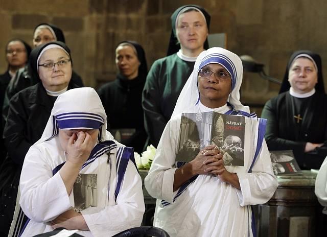 Bohoslužba za kardinála Berana.