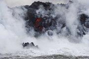 Erupce sopky Kilauea na Havaji.