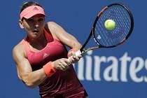 Simona Halepová v prvním kole US Open