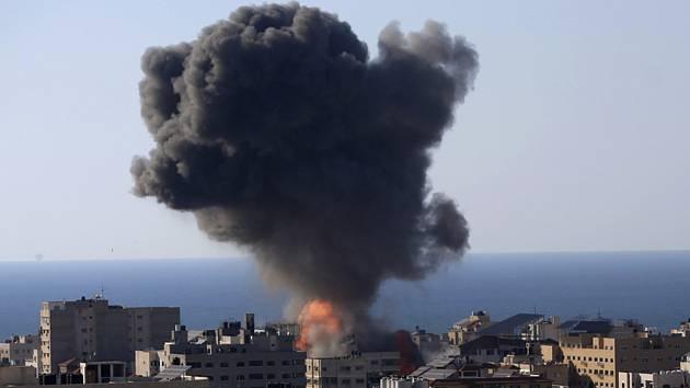 Letecké útoky Izraele na Gazu
