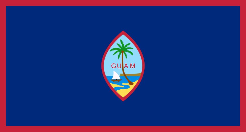Vlajka Guamu