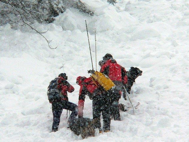 Lavina v Krkonoších, která spadla v pátek 26. prosince v oblasti směrem od Luční boudy do Obřího Dolu u Červenkovy muldy, si vyžádala lidský život. Na podchlazení zemřela v nemocnici šestatřicetiletá skialpinistka z Prahy, která byla více než tři hodiny z