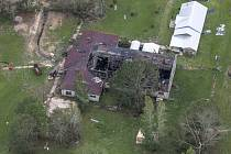 Následky hurikánu Laura v Louisianě