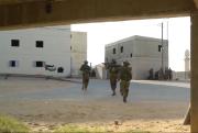 Výcvik prostějovské jednotky v Izraeli