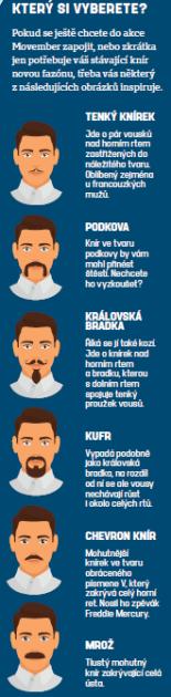 Movember. Infografika
