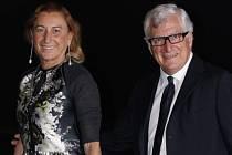 Miuccia Prada a Patrizio Bertelli.