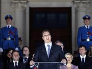 Srbský premiér Aleksandar Vučić