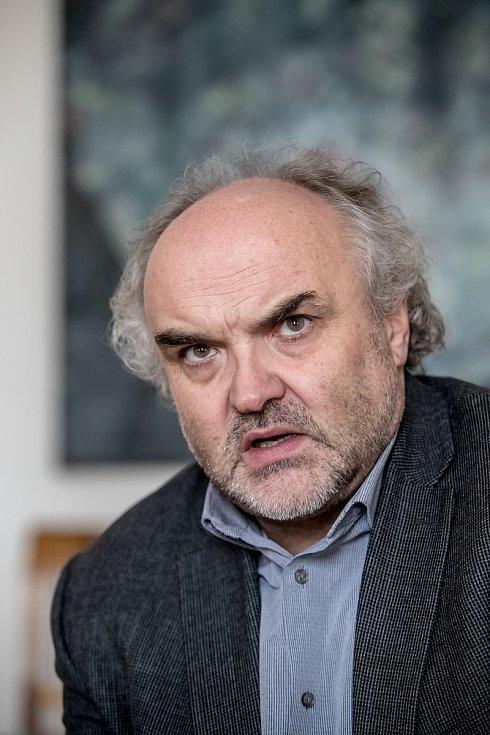 Generální ředitel Národní galerie Jiří Fajt.ze.