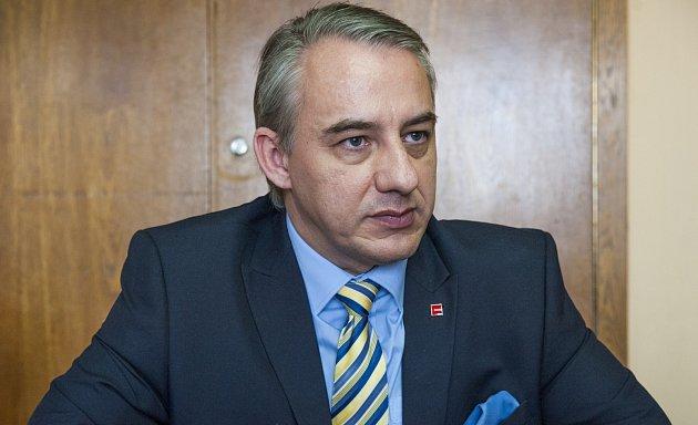 Josef Středula, předseda ČMKOS.
