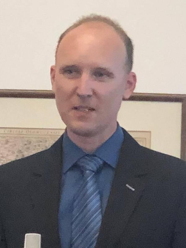 ředitel malotřídní ZŠ Zaječice Radek Machatý