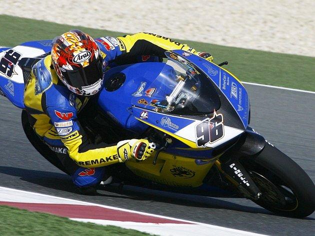 Jakub Smrž na své Ducati 1098 RS 08.