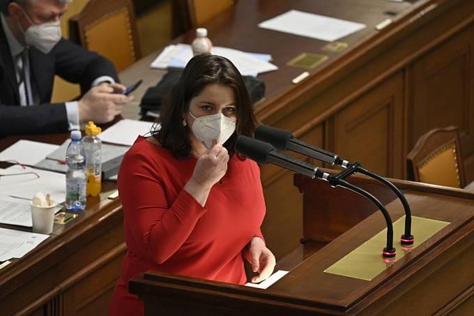 Ministryně práce a sociálních věcí Jana Maláčová