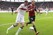Stuttgart v bláznivém utkání remizoval s Ingolstadtem