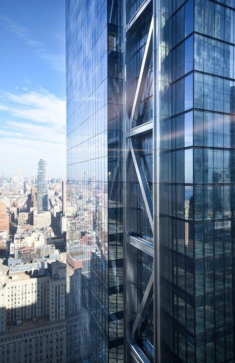Three World Trade Center je s celkovou výškou 329 metrů a 80 podlažími 12. nejvyšší budovou postavenou v roce 2018