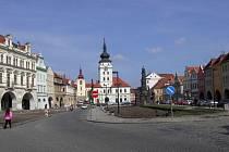 Žatec - náměstí Svobody