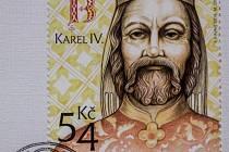 Karel IV. na nové známce