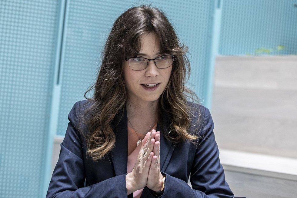 Poslanci v květnu zvolili nové členy Rady České televize. Na snímku Hana Lipovská