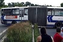 Nehoda autobusu u Staré Boleslavi