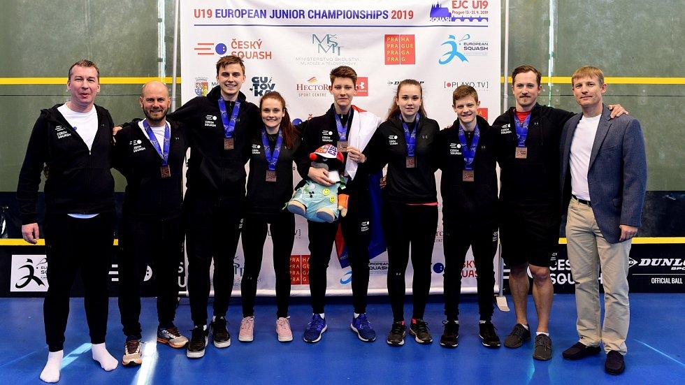 Bronzový tým Česka.