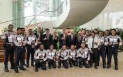 Český premiér Andrej Babiš na návštěvě Singapuru