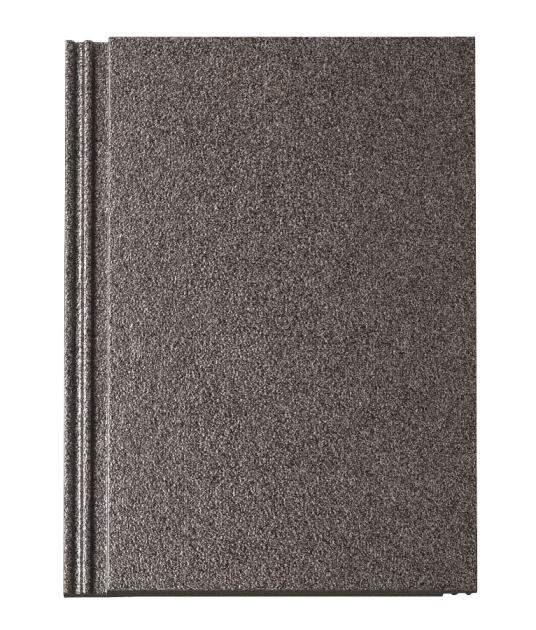 Design betonové tašky Tegalit STAR vtmavém odstínu granit metallic