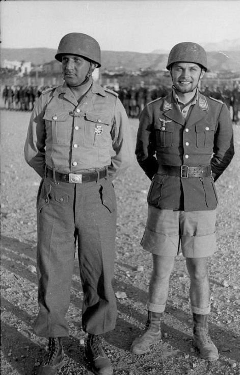 Walter Gericke (vlevo) a Horst Trebes (vpravo)