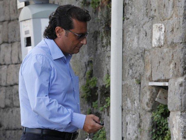 Kapitán ztroskotané výletní lodě Costa Concordia Francesco Schettino