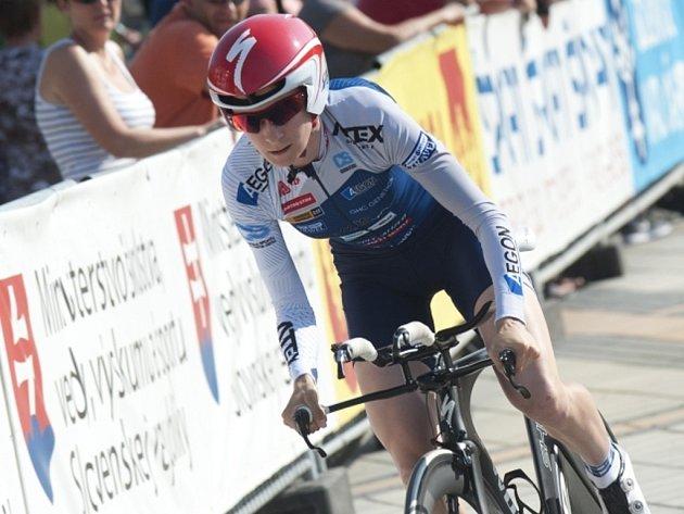 Martina Sáblíková loni znovu vyhrála na mistrovství ČR v cyklistice časovku.